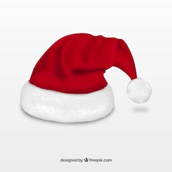 Realistic chapéu de Papai Noel