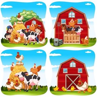 Recolha de fazenda fundos