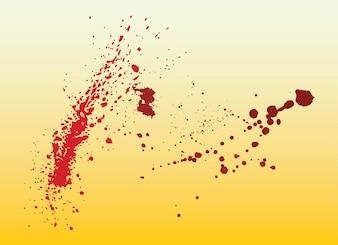 respingos de sangue
