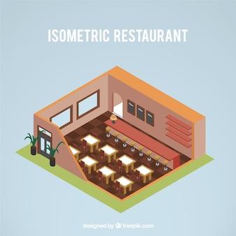 Restaurante isométrica