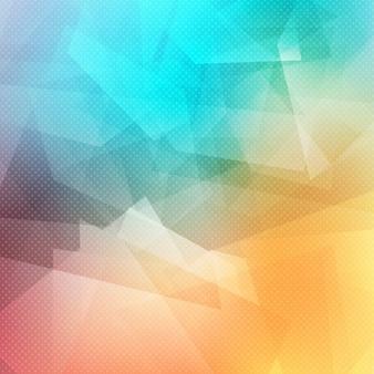 Resumo de fundo com um desenho geométrico