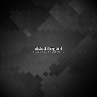 Resumo de fundo de padrão de mosaico de cor preta