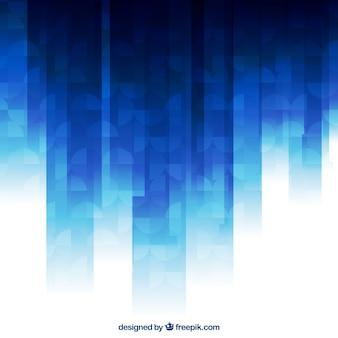 Resumo de fundo em tons de azul