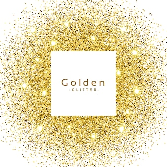 Resumo, dourado, brilho, sparkles, quadro