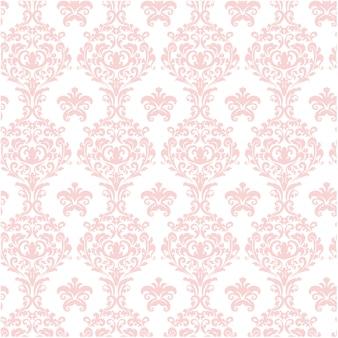 Rosa, ornamental, Padrão, fundo