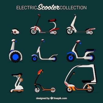 Scooters elétricos com estilo moderno