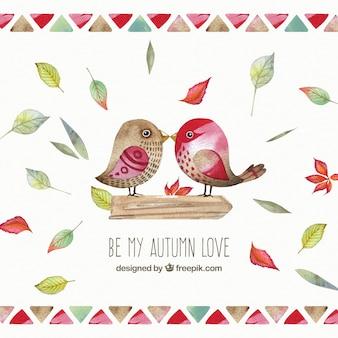 Seja meu amor do outono