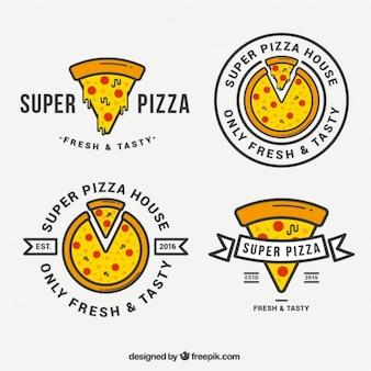 Seleção de logos para a pizza