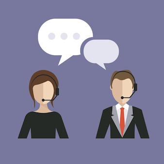 Serviço de atendimento ao cliente de negócios