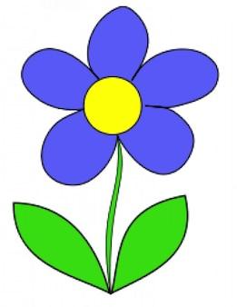 Simples flor