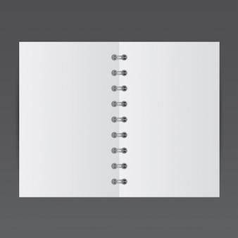 Simples pequeno bloco de notas, mockup