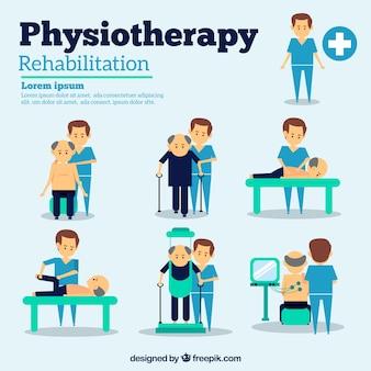 Situações de fisioterapia