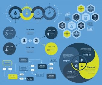 Soluções para o gráfico de negócios