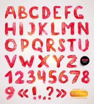 Splat mensagem aguarela rabisco caligráfico