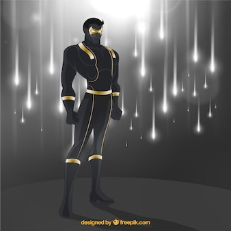 Super-herói poderoso