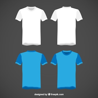 T camisas pacote