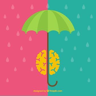 Tempestade Cerebral conceito