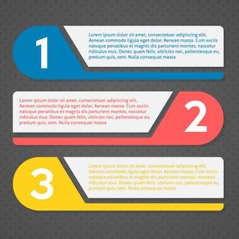 Template infográfico Colorido
