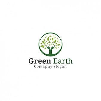 Template Logo Árvore