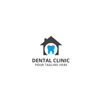 Template Logo Clínica Dental