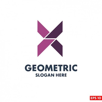 Template Logo Geometric