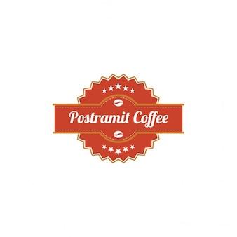 Template Logo Postramit Café