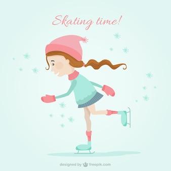 Tempo de patinagem