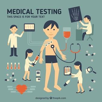 Teste médico