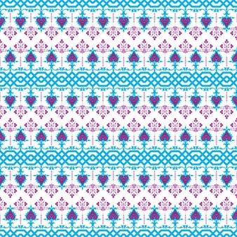 teste padrão do bordado do ornamento