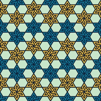 Teste padrão geométrico islâmico