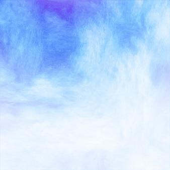 Textura azul da aguarela