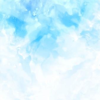 Textura do fundo, aguarela azul