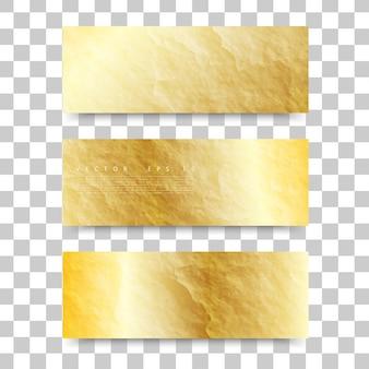 Textura do ouro do vetor.
