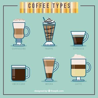 Tipo de café coleção