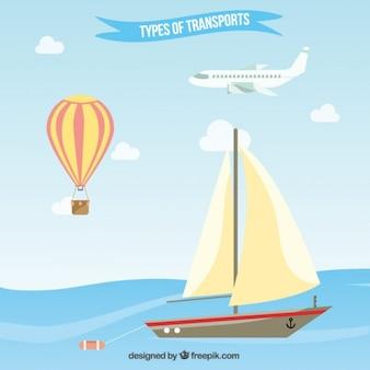 Tipos de planos de pacote de transporte