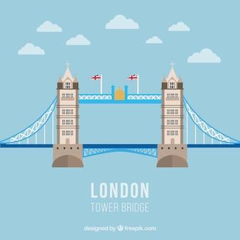 Torre ilustração ponte