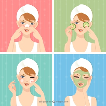 Tratamento de beleza