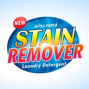 Ultra-roupa poder design de embalagem do produto detergente