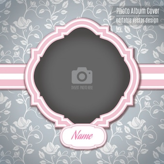 Um quadro romântico rosa