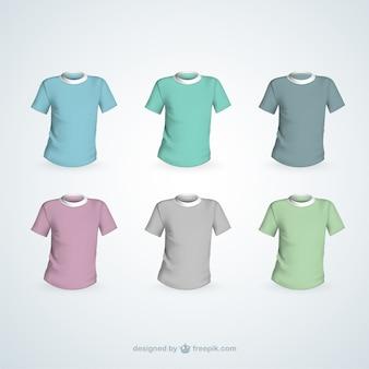 Variedade de camisetas