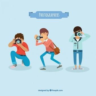 Variedade de fotógrafos