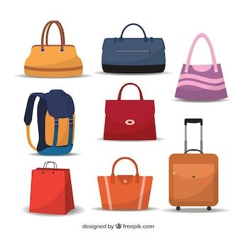 Variedade de sacos