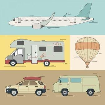Variedade de transporte ravel