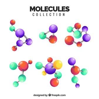 Variedade moderna de moléculas realistas