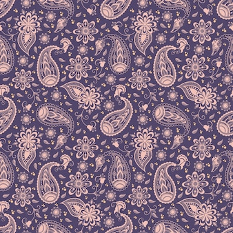 Vector padrão de padrão floral sem costura em estilo árabe. Padrão arabe. Ornamento étnico oriental. Textura elegante para fundos.
