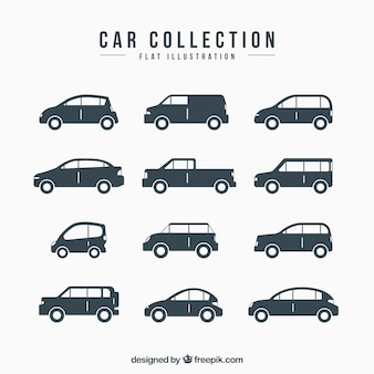 Veículos decorativas com variedade de modelos