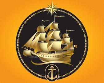 veleiro de ouro