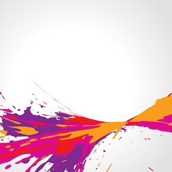 Vetor abstrato colorido grunge