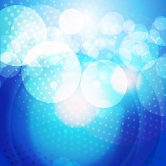 Vetor cor brilhante azul eps10 fundo