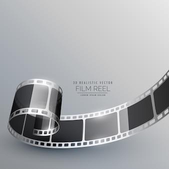 Vetor de tira de filme para fotografia de câmera